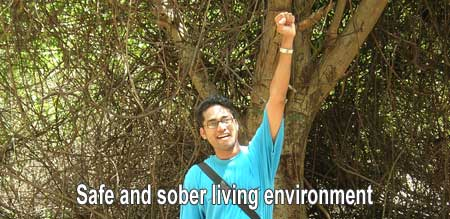 safe sober living environment